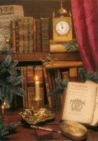 De Bibliotheek van de Assuradeur. - The library of an insurer.