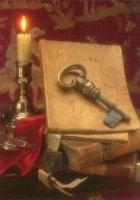 De Sleutel. Symbool van de Overdracht. - The Key; symbol of conveyance.